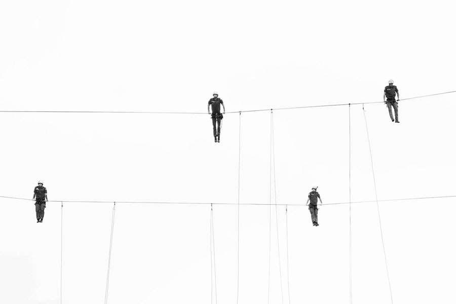 Fotografia impressa: Ao som dos bombeiros II | Geisa Brandt