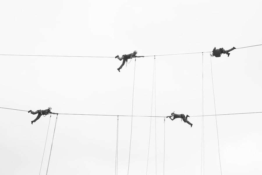 Fotografia impressa: Ao som dos bombeiros III | Geisa Brandt